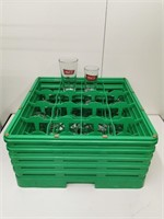 Mill Street Beer Glasses & Dishwasher/Storage Rack