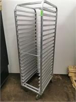 HD Full Size 20 Pan Aluminium Sheet/Dough Bin Rack