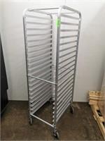 Full Size 20 Pan Aluminium Sheet/Dough Bin Rack