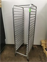 Full Size 20 Pan Aluminium Sheet/Dough Bin Rack