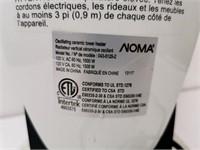 NOMA Oscillating Ceramic Heater