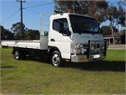 2018 Fuso Canter 515 AMT Duonic Table / Tray Top Drop Sides
