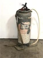 Vintage metal sprayer