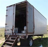 Brown Storage Box Van, view 2