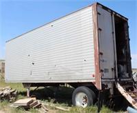 Brown Storage Box Van, view 3