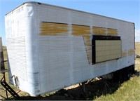 Storage Box Van, single-axle, 8' x 26', (no title INCLUDES CONTENTS) view 1