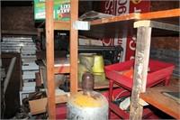 contents inside storage trlr