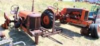 (3) Allis Chalmers Parts Tractors (2- WC's, 1-C) view 1