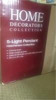 Home Decorators 5-Light pendant