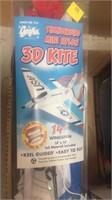 Lite Flite, wire light, 3D kite