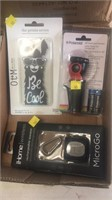 Speaker, phone case & flashlight