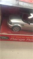 Mini Hovercraft & Range Rover