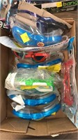 Box of goggles