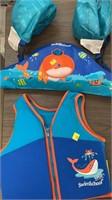 2 life jackets