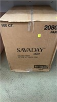 Savaday white trays