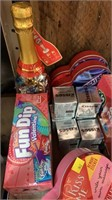 Flat of assorted candy