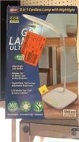 Lamp with nightlight