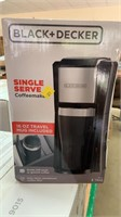 Black decker single serve coffee maker