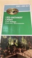 3 led pathway light