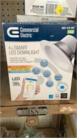 3 commercial electric smart led downlight