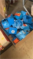 Lot of electric boxes