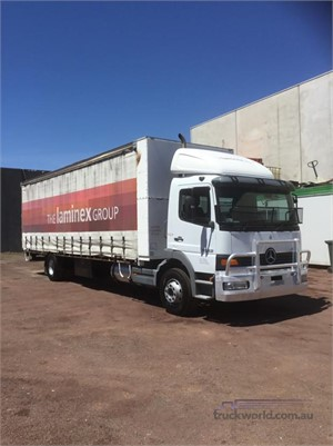 2004 Mercedes Benz Atego 1623 Hume Highway Truck Sales - Trucks for Sale