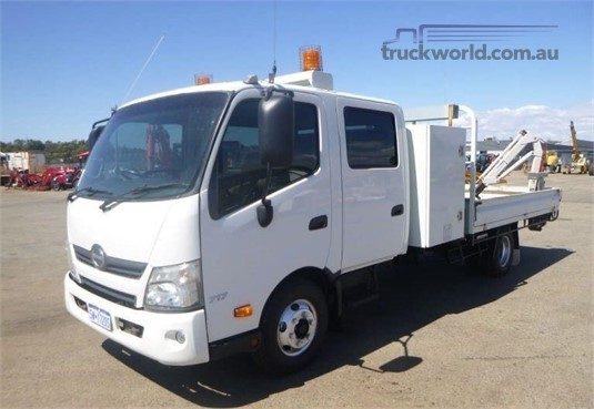 2012 Hino 300 Series 717 - Trucks for Sale