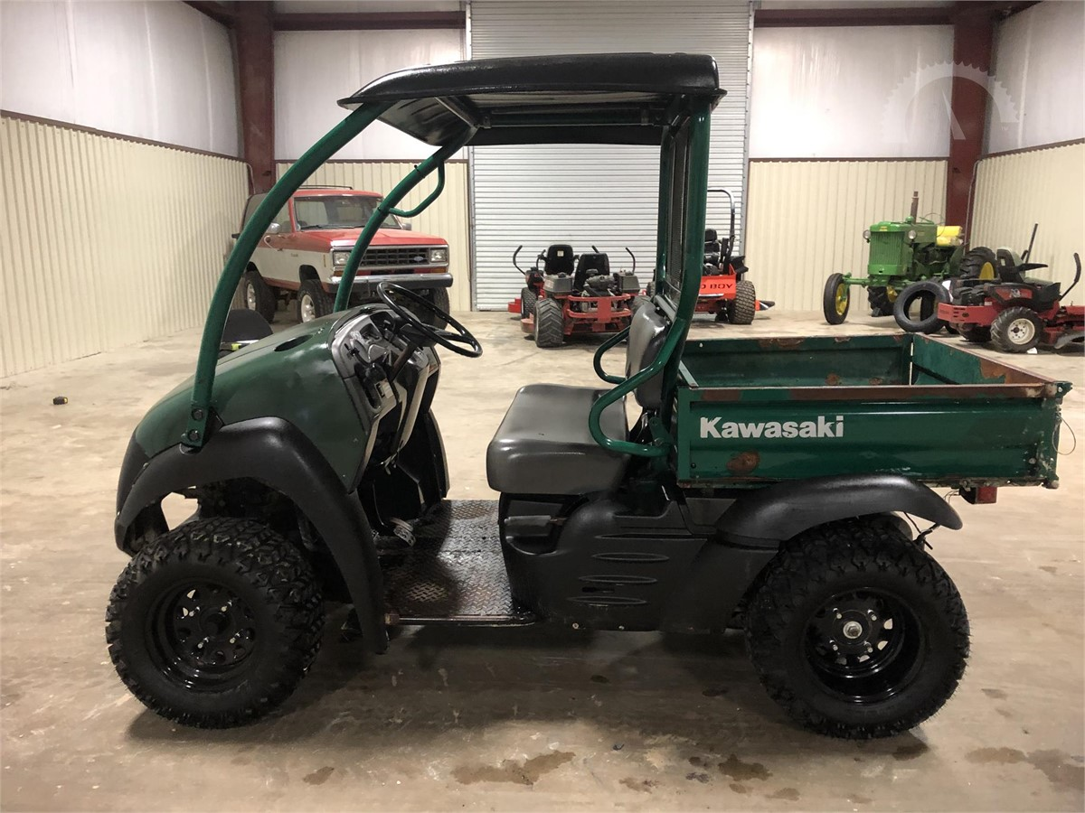 AuctionTime.com | 2007 KAWASAKI MULE 610 Auction Results
