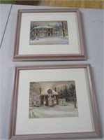 Pair Trish Romance Prints