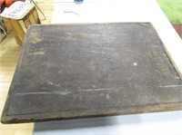 "Antique Bread Board  1 21""x28 Piece Board"