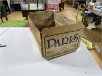 Paris Pears Packing Box