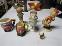 Selection Figurines & Miniature Mugs