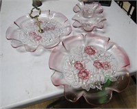Serving Trays & Double Dish