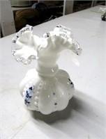 Hand Painted Fenton Vase