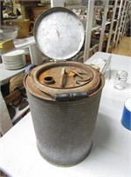 5 Gal Galvonized Metal Can