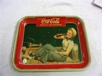 1940 Coca-Cola tray - American Artworks