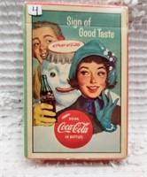 1959 Coca-Cola card deck