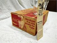 (12) 6-oz. Coca-Cola glasses in original box