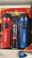 2 LED flashlight