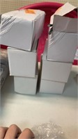 6 boxes of White solar power fairy lights