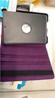 Purple tablet case