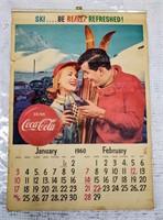 1960 Coca-Cola Calender