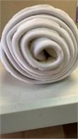 White chevron rug