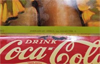 1930 American Artworks Coca-Cola tray