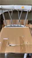 Gray stool chair