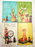 "(8) 50's & 60's Coca-Cola ""Pause for Living"" mags."