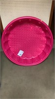 Pink Summer Waves plastic pool