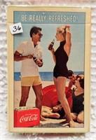 1960's Coca-Cola card deck