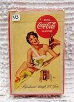 1956 Coca-Cola card deck
