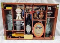 Coca-Cola Centennial Celebration shadow box